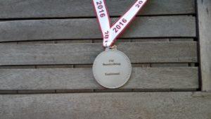 En sølvmedalje fra Forbundsmesterskab i Jagtbueskydning 2016
