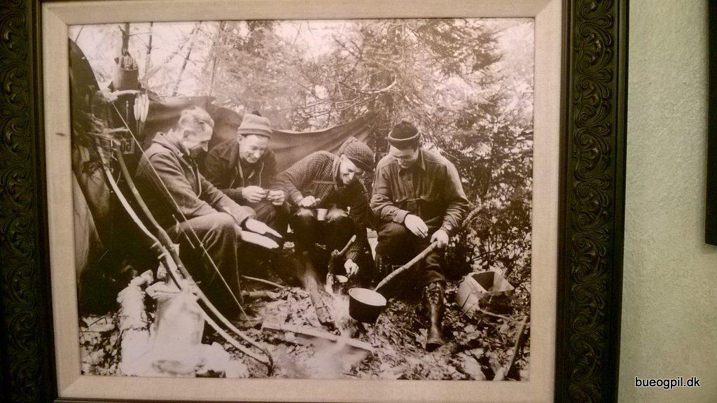 Amerikanske buejægere fra en tid hvor buejægere lignede og lugtede som mennesker.