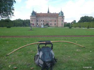 Min egen bue færdig og klar til DM på Egeskov Slot.