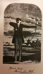 Korrekt form i følge Horace Ford, 1856